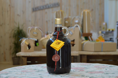 Mustard balsamic vinegar 1 L.