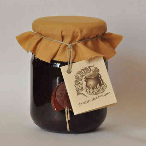 Confiture de fruits de bois 325 grs