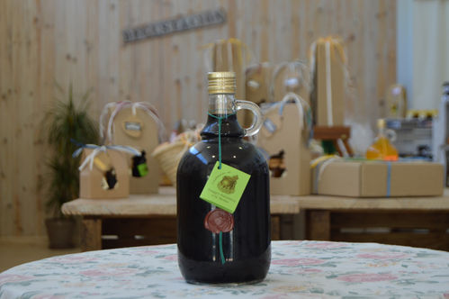 Fresh mint balsamic vinegar 1 L.